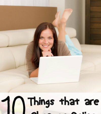 10 Things That Are Cheaper to Buy Online- These items are generally less expensive when purchased online. You may surprised by how much money you can save!