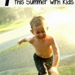 Fun Ways for Kids to Play with Water- Kids will keep cool and have a good time this summer with these water activities. Get the hose out and give them a go!