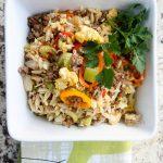 Couscous & Orzo Pepper Stir-Fry