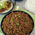 Homemade Seasoned Taco Meat- Making this seasoned taco meat recipe ensures you know exactly what's going in it, and you can customize it to suit your taste.