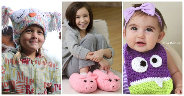 100 Free Crochet Patterns For Men Women And Children
