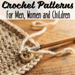 Free Crochet Patterns for Men, Women, and Children