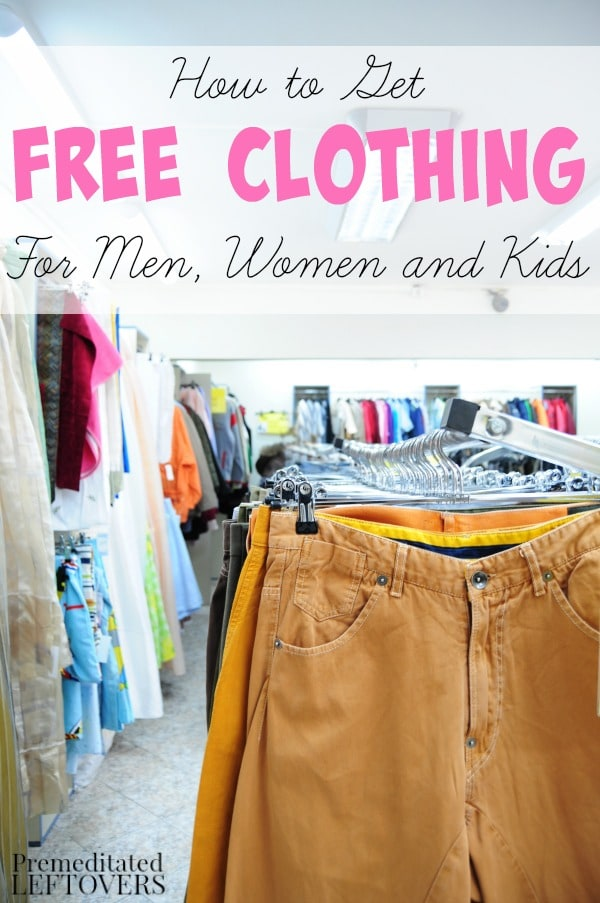 How to Find Free Clothing Assistance- Here are some helpful resources ...: premeditatedleftovers.com/naturally-frugal-living/how-to-find-free...