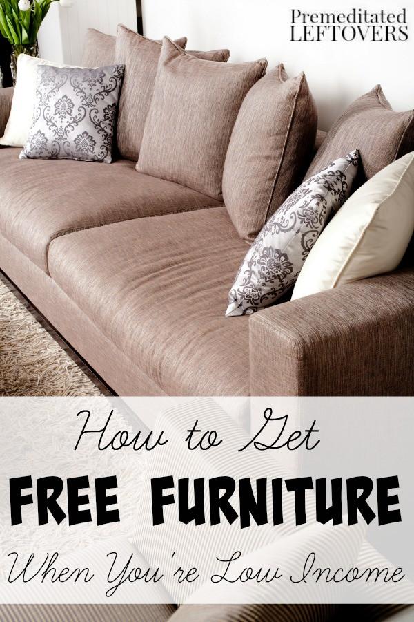 Ways To Find Free Furniture