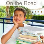 How to Homeschool on the Road- These simple tips will make it easier to homeschool while traveling. Use them whenever you take your classroom on the road!
