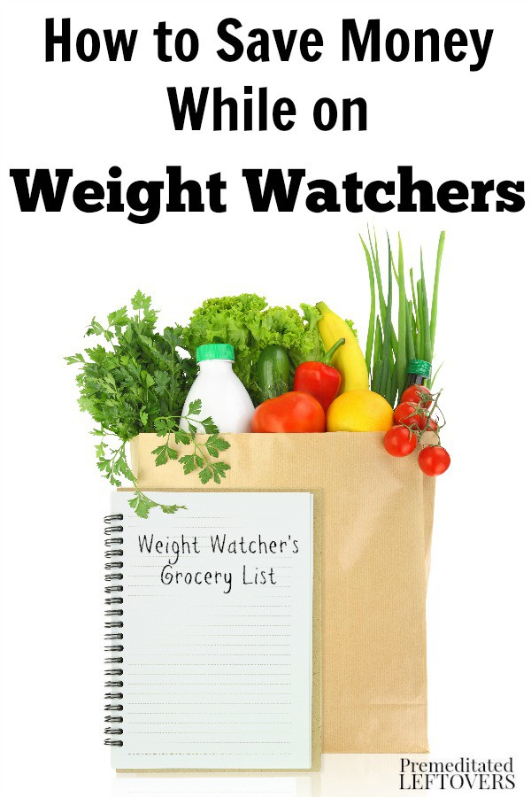 How to Save Money on Weight Watchers- A healthy lifestyle doesn't have to be expensive. You can save money on Weight Watchers with these frugal tips.