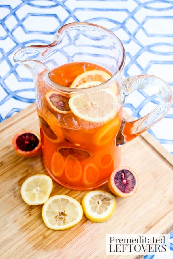 Orange & Cream Soda Lemonade- mix in pitcher