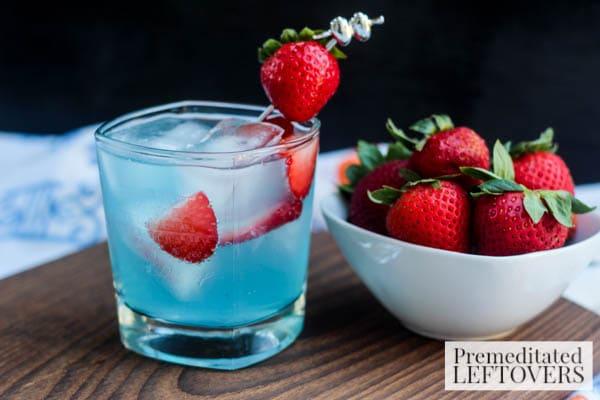 Strawberry colada cocktail  Easy Strawberry & Berry Colada Cocktail Recipe
