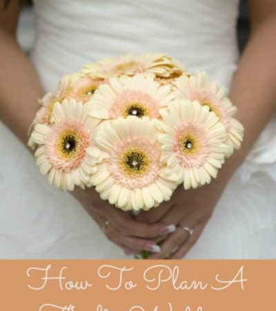Frugal Tips for Planning a Thrifty Wedding - Here are some helpful tips for planning a beautiful wedding on a tight budget.