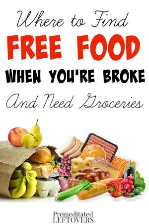 best food to buy when broke