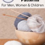 103 Free Knitting Patterns for Men, Women, and Children