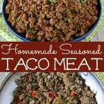 homemade taco meat recipe with homemade taco meat seasoning mix using pantry spices