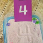 Sensory Learning Tray for Kids