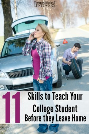 11 Skills Your College Student Should Have Before Leaving Home