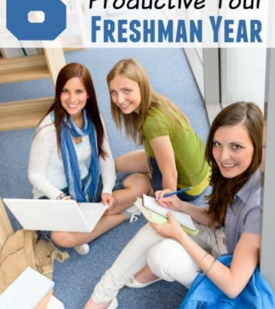 6 Tips for Being Productive Your Freshman Year- Your freshman year of college is a big adjustment! Stay productive and on task with these helpful tips.
