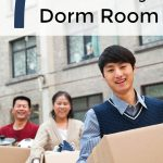 Must Have Items for Your College Dorm Room- Heading to college in the fall? Be sure to include these 7 items when shopping for dorm room essentials.