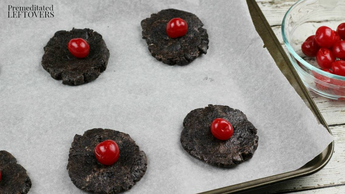 Cherry-Stuffed Oreo Balls Recipe - Place a cherry in each Oreo ball