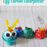 How to Make an Egg Carton Caterpillar