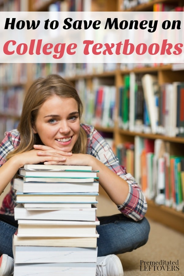 How to Save Money on College Textbooks- College textbooks can cost hundreds of dollars. Here are some smart ways to save when purchasing them this year.