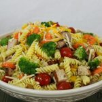 Italian Pasta Salad with Grilled Pork