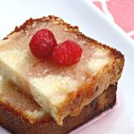 Simple Pound Cake with Raspberry Syrup Recipe