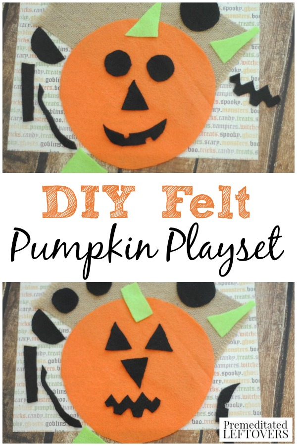 This Easy DIY Felt Pumpkin Playset Is Perfect For On The Go Entertainment Fall