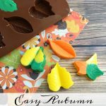 Autumn Inspired Chocolate Leaves
