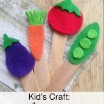 These fun Felt Garden Markers are a perfect spring project for kids. Get them excited for the gardening season with this simple craft!