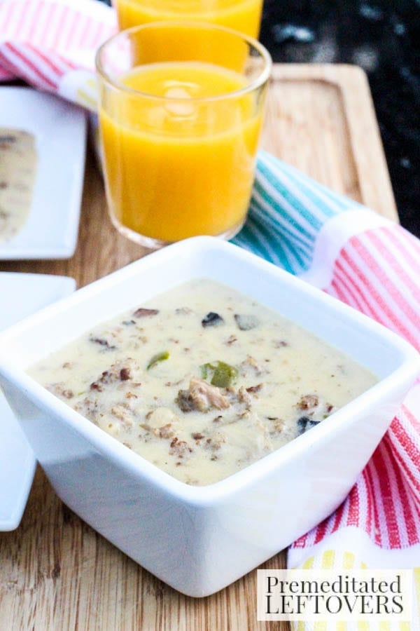 Here is a delicious recipe that will show you How to Make Sausage Gravy In an Instapot. Along with loads of mushrooms, this recipe has a spicy kick!