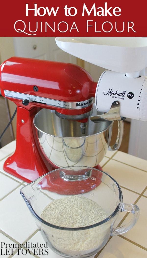 How to Make Quinoa Flour - Easy Tutorial