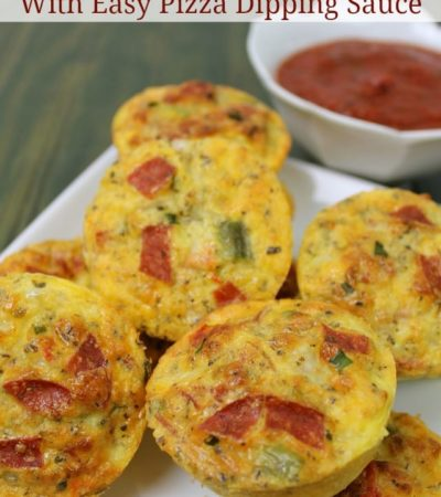 Pizza Egg Puffs Recipe and Pizza Dippig Sauce