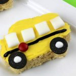 School Bus Rice Krispies Treats