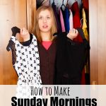 Tips for Making Sunday Mornings Less Hectic for Church