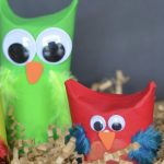 These Toilet Paper Roll Owl Puppets are an easy craft for young kids learning the letter O. Older kids can use these cute finger puppets to put on a play.
