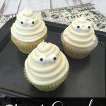 Vanilla Ghost Cupcakes