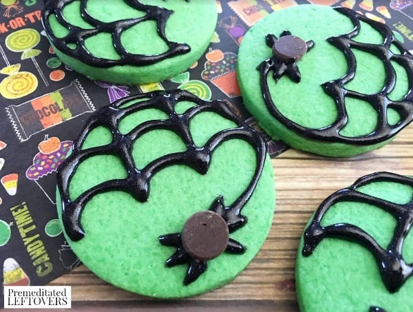 these mint spider cookies are a perfect treat to make this halloween the recipe includes