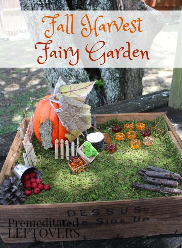 fall harvest decorations outdoors fall harvest fairy garden tutorial  fall harvest fairy garden tutorial