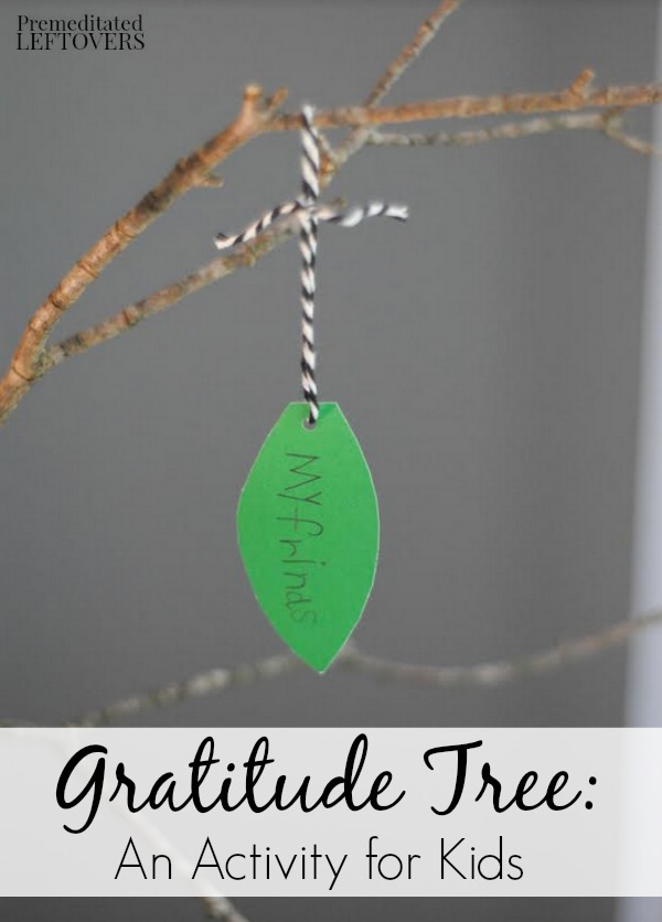 Help your kids reflect on what they are thankful for with this Gratitude Tree Activity. It's a great craft for the upcoming Thanksgiving holiday.