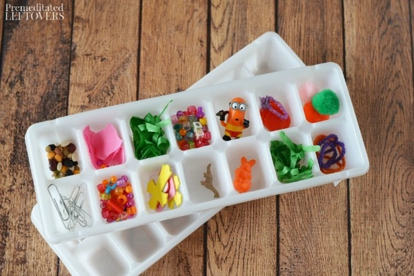 Ice Cube Discovery Activity for Kids- materials needed