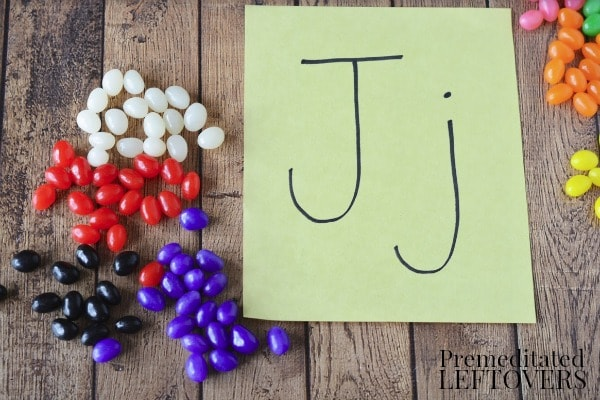 Jelly Bean Counting and Sorting Activity- materials needed