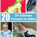Your baby will look adorable in any of these 20 DIY Halloween Costumes for Babies. Easy to follow tutorials are included for you to create them yourself!