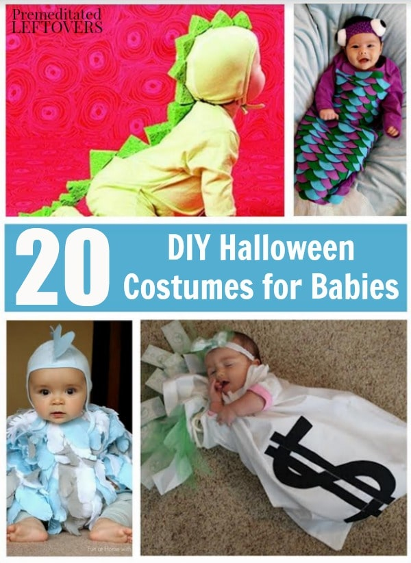 20 diy halloween costumes for babies solutioingenieria Image collections