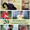 These 20 DIY Halloween Costumes for Girls are perfect for trick-or-treating or Halloween parties. They include simple tutorials and creative costume ideas.