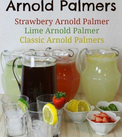 Delicious Arnold Palmer recipes