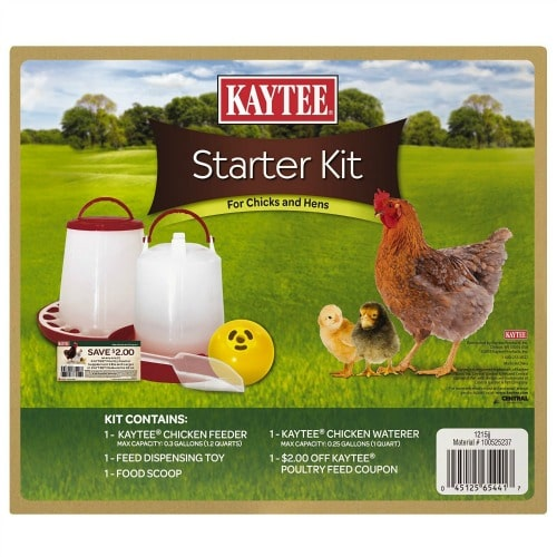 What You Need to Raise Chickens- chick Feeding Starter Kit