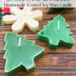 Scented Cookie Cutter Christmas Candles