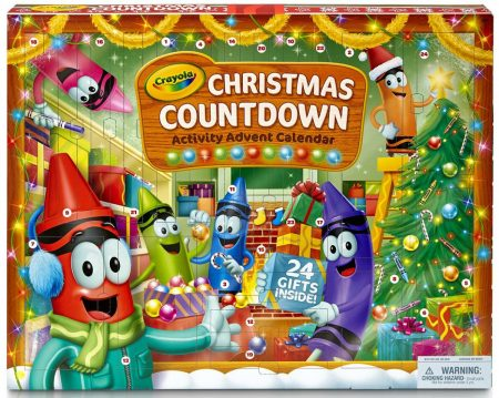 Crayola Advent Calendars For Kids