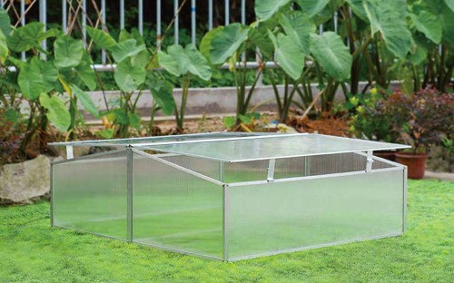 Double Wide Folding Cold Frame
