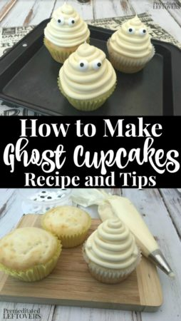 How to Make Vanilla Ghost Cupcakes - Recipe and Decorating Tips