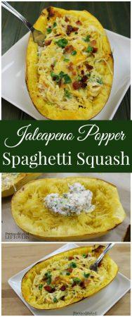 Jalapeno Popper Spaghetti Squash Recipe